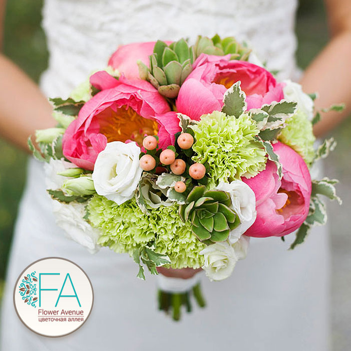 Самые стойкие цветы для свадебного букета
