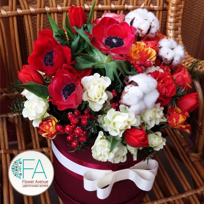 Доставка цветов омск недорого