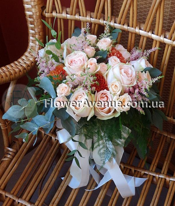 Авторские букет невесты из калл купить киев #14