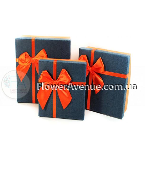 Интернет магазин подарочных коробок лен бежевый